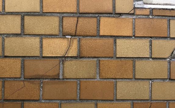 タイル外壁剥落防止