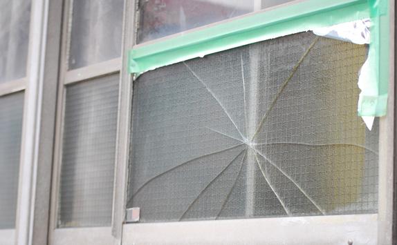 窓ガラス 飛散防止